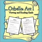 Othello: Act I Viewing and Reading Guide