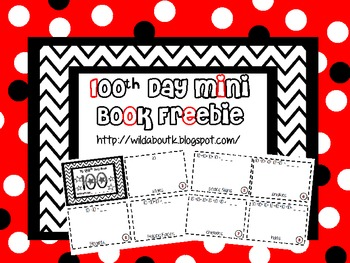Our 100th Day Mini Book
