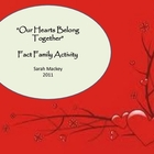 """Our Hearts Belong Together""  A Valentines Fact Family Activity"