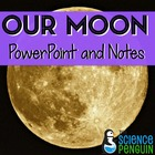 Our Moon PowerPoint, Notes, and Mini-Lab