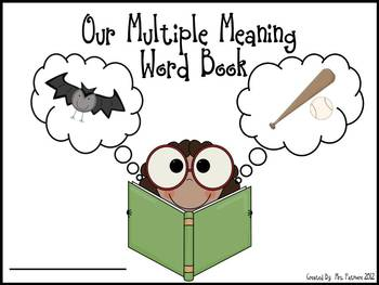Our Multiple Meaning Book