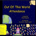 Out Of This World Attendance  (SMARTBoard)