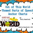 Out of This World Parts of Speech Anchor Charts