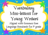 Over 30 Writing Mini Lessons and Bulletin Set-Common Core