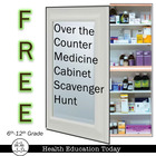 """Over the Counter"" Medicine Cabinet Scavenger Hunt Lesson"