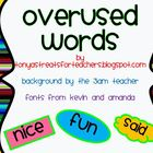 Overused Words