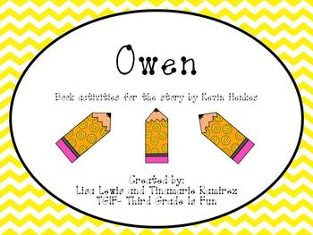 Owen (book activities for the story by Kevin Henkes}