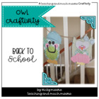 Owl Craftivity { 'owl' about me }