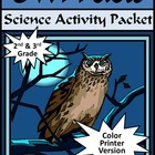 Owl Facts Activity Packet