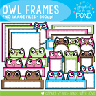 Owl Frames - Graphics From the Pond