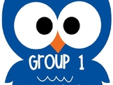 Owl Group Cards