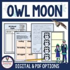Owl Moon Guided Reading Unit by Jane Yolen