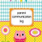Owl Parent Communication Log