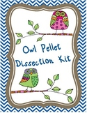 Owl Pellet Dissection Kit