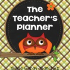 Owl Teacher Lesson Planner, Grade Book, and Calendar