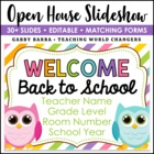 Owl Theme Back to School Open House Powerpoint Template