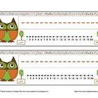 Owl Theme Desk Nameplates