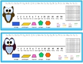 Owl Themed Desk Nameplates Primary/Junior