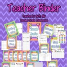 Owl Themed Teacher Binder {For the ENTIRE School Year!!!}