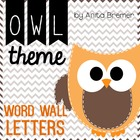 Owl Word Wall Headers