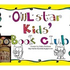 """Owl""Star Kids Book Club Sticks"