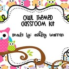 Owls and Dots Classroom Kit