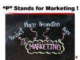 """P"" Stands for Marketing ! PPT"