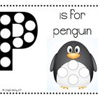 P is for Penguin Do-A-Dot Worksheet Freebie