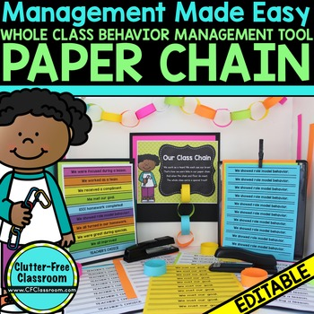 PAPER CHAIN PACKET - WHOLE CLASS BEHAVIOR MANAGEMENT IDEA