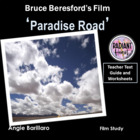 PARADISE ROAD- Beresford- Worksheets for Teachers