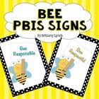 PBIS Signs (Bee Theme)