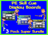 PE Skill Cues- Triple Pack Display Boards