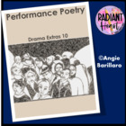 PERFORMANCE POETRY-DRAMA EXTRAS 10 Radiant Heart Publishing
