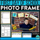 PHOTO FRAME KIT back to school keepsake bulletin board idea