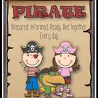 P.I.R.A.T.E Binder Kit: Editable