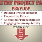 POETRY PROJECT PACK (Instructions, Rubric, Example, & Foll