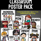 POSTERS Engineering Design Process 2 Versions - Early Grades K-2