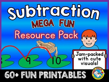 PREVIEW OF:SUBTRACTION MEGA FUN RESOURCE PACK-SUBTRACT WIT