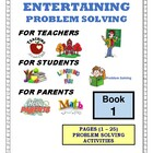 PROBLEM SOLVING ACTIVITIES - BOOK #1 (1 - 25)