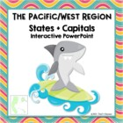 Pacific Region Interactive States + Capitals PowerPoint