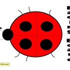Pacing Board Ladybug Speech Freebie