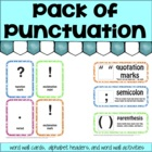Pack of Punctuation