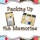Packing Up the Memories Writing Craftivity