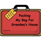 Packing a Bag for Grandma's House-Grandparent's Day