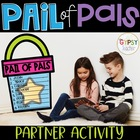 Pail of Pals Beginning of School Activity