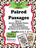 Paired Passages for Grades 6 and 7