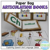 Paper Bag Articulation Books {BUNDLE}
