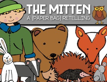 Paper Bag Retelling: The Mitten by Jan Brett