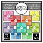 Paper Bundle 1 {12x12 Digital Papers for Commercial Use}