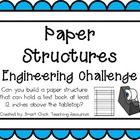 Paper Structures: Engineering Challenge Project ~ Great ST